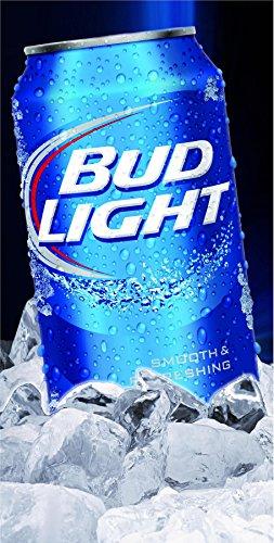 Bud Light Can Cornhole Board Wrap Laminated Decal 3M Set