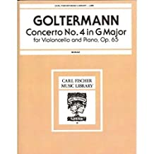 Goltermann, Georg Concerto No 4 In G Major, Op 65 - Cello and Piano by Leo Schulz - Carl Fischer