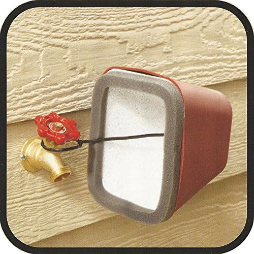 Insulating Outdoor Hardshell Faucet Covers For Freeze