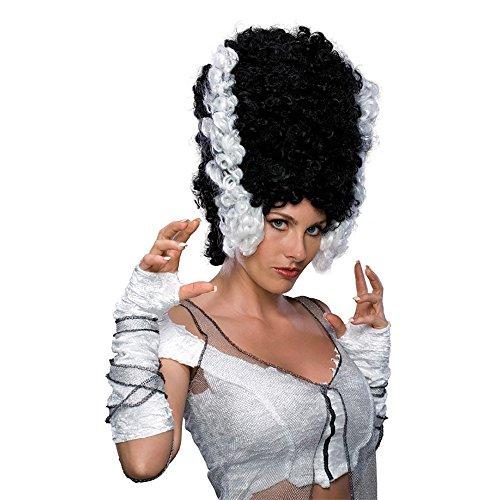 [Bride Of Frankenstein Women's Adult Size Monster Bride Costume Wig] (Frankensteins Bride Costume)