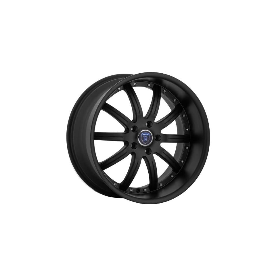 Rohana RL10 20x8.5 20x10 Mercedes Benz C E S Class Wheels Rims Matt Black 4pc 1set