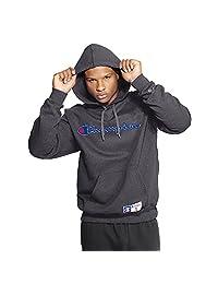 Champion Men?s Retro Graphic Pullover Hoodie