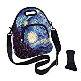 VIPbuy Multipurpose Neoprene Lunch Bag Kit, Soft Insulated Thermal Lunch Boxes Container Tote