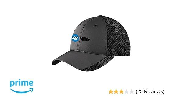 Amazon.com  Miller Electric Welding Baseball Hat (Iron Grey)  Home  Improvement 3364ff29d89