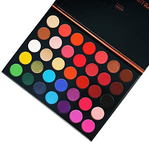 Famous Eyeshadow Palette re-sale Color Studio Eye shadow Palette 35 Colors Powder Makeup Waterproof Unleash Your Inner Artist Beauty Glazed