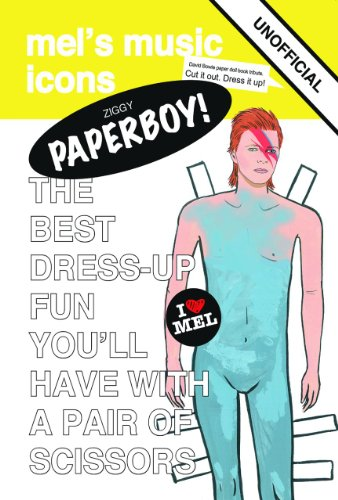 Paperboy! Unofficial Tribute to David Bowie (Paper Doll) Boy Paper Dolls