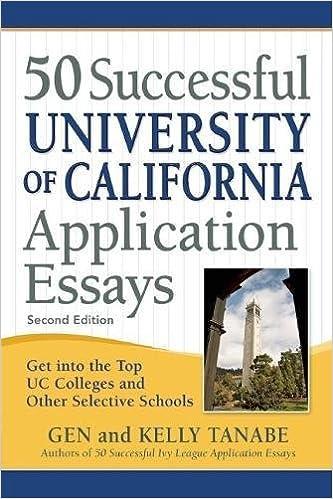 uc application essays