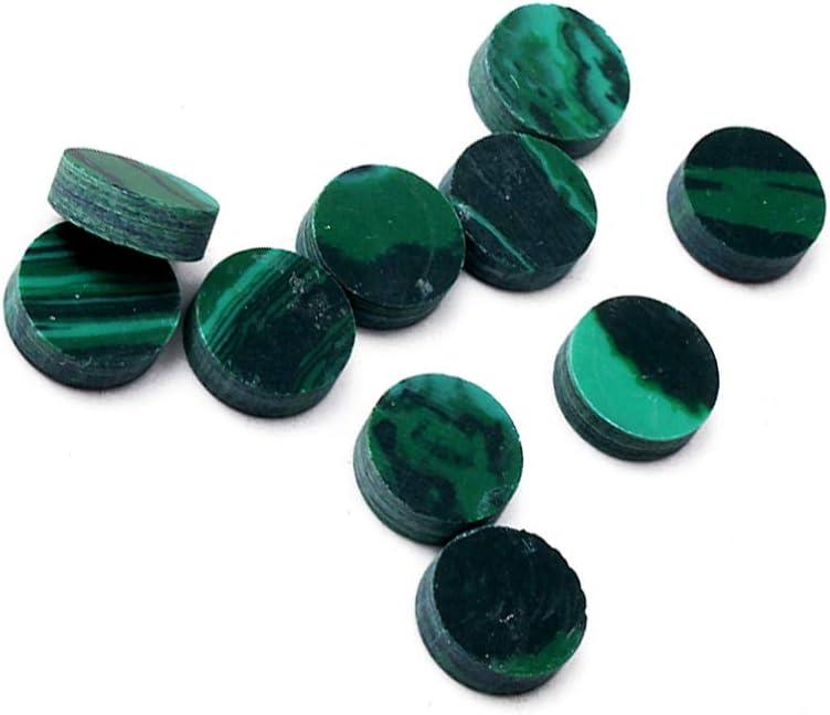 Dark Green Milisten 10pcs Abalone Shell Inlay Fingerboard Fretboard Dots Inlay Materials for Guitar Bass Ukulele Banjo