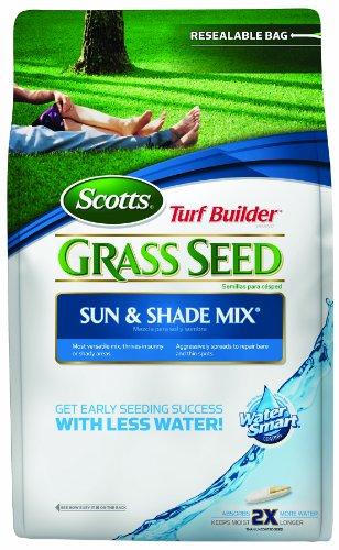 Scotts 18115 Turf Builder Sun and Shade Grass