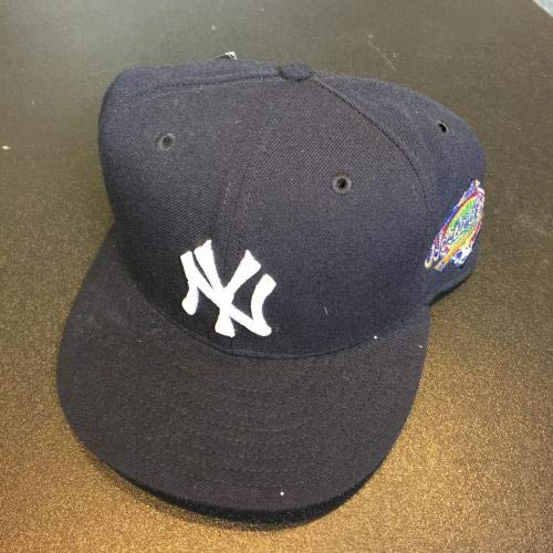 ad6b66ec1 Rare John Elway Signed New York Yankees 1996 World Series Hat Cap COA - JSA  Certified - Autographed Hats at Amazon's Sports Collectibles Store