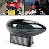 Amazinea Smoke Integrated LED Brake Stop Tail Light Turn Signal for Suzuki Hayabusa GSX1300R 99-07 Katana 600/750 03-06
