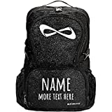 Custom Name/Text Cheer Bag: Nfinity Sparkle Backpack