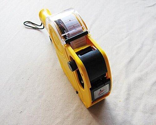 8 Mode Dial Price Gun Labeler Unit Ink Paper Pack