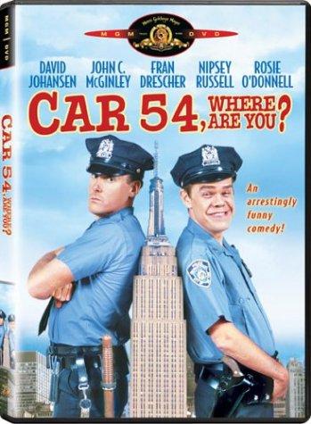 Car 54, Where Are You? (Police Car Dvd)