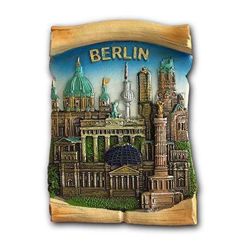 Berlin Germany 3D Refrigerator Magnet Travel Sticker Souvenirs Home & Kitchen Decoration Berlin Fridge Magnet from China