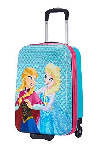 Disney New Wonder Hard Upright 50/18 Frozen Equipaje Infantil, 22.5 Litros, Color Azul