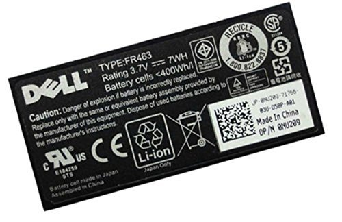 ZTHY Battery Dell Poweredge Perc 5i 6i Fr463 P9110 Nu209 ...