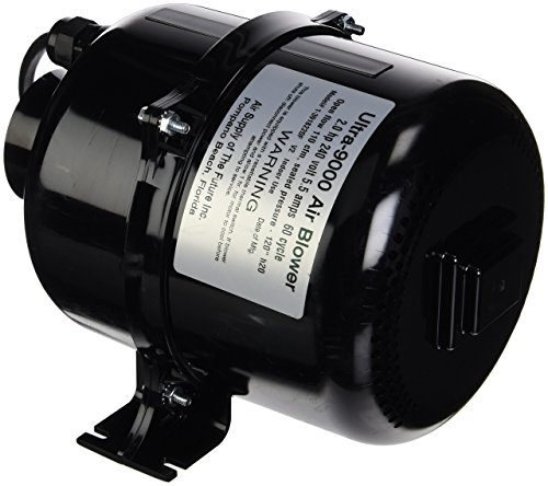 Air Supply 3918220 Portable Spa Blower Ultra 9000 2.0 hp 4.5 Amp, 240V by Air Supply