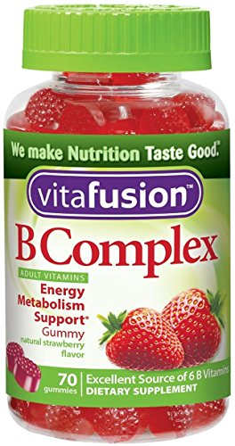 Vitafusion B Complex Adult Gummy Vitamins 70 ea (Pack of 12) by Vitafusion