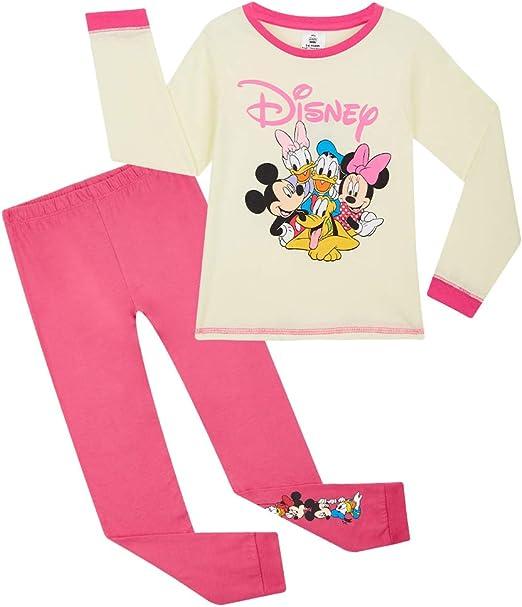 Pigiami Due Pezzi in Cotone con Marie Disney Aristogatti Pigiama A Maniche Lunghe per Bambina 18 Mesi 14 Anni