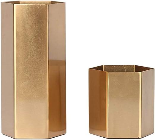 Caja cuadrada tridimensional Decoración de jarrón Jarrón para sala ...