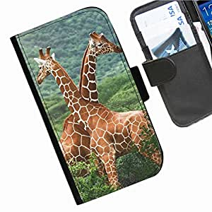 Hairyworm - Animals Samsung Galaxy S3 Neo (i9300i, i9301i) leather side flip wallet cell phone case, cover