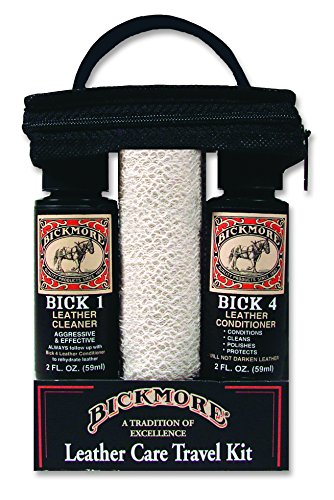 Bickmore Leather Shoe & Boot Travel Care Kit- Repairs, Polishes and Shines (Equestrian Leather)
