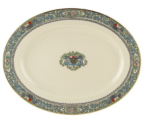 Lenox Autumn 13-Inch Gold-Banded Fine China Platter
