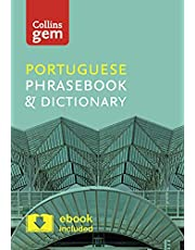 Collins Portuguese Phrasebook and Dictionary Gem Edition: Essential phrases and words in a mini, travel-sized format