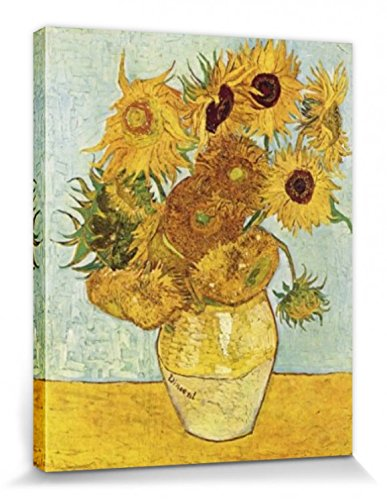 Girasoles Gogh Los 1888 Montado 1art1® Lienzo Cuadro Vincent Van qEFwT7TIP