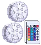 best seller today Qoolife Submersible Led Lights Remote...