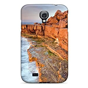 New Diy Design Red Cliffs For Galaxy S4 Cases Comfortable For Lovers And Friends For Christmas Gifts