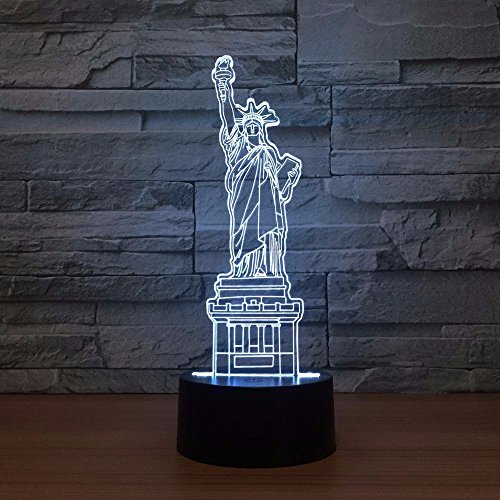 Led Lamps Lights & Lighting Dutiful Bear Love3d Illusion Lamp 7 Color Change Touch Switch Led Night Light Acrylic Desk Lamp Atmosphere Lamp Novelty Lighting