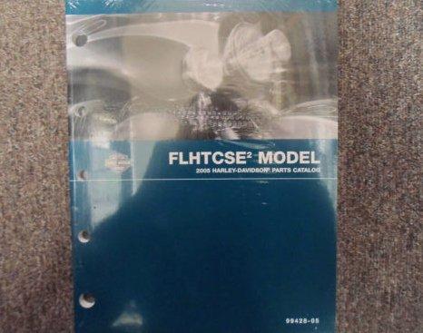 2005 Harley Davidson FLHTCSE Parts Catalog Manual FACTORY OEM BOOK NEW