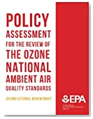 Policy Assessment for the Review of the Ozone National Ambient Air Quality Standards Second External Review Draft