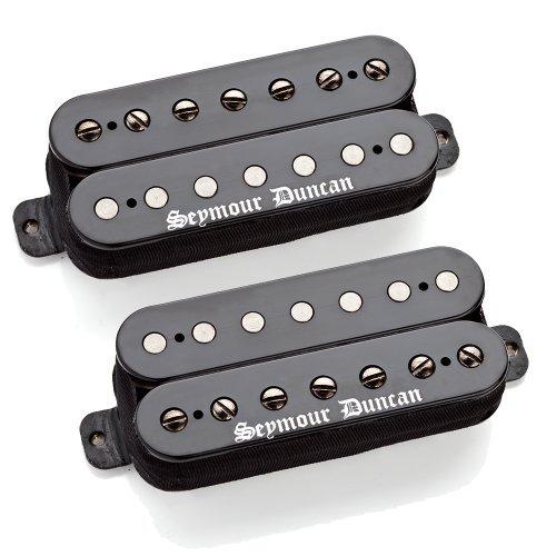 Seymour Duncan Black Winter Set 7 String Electric Guitar (Coil Soap Bar Humbucker)