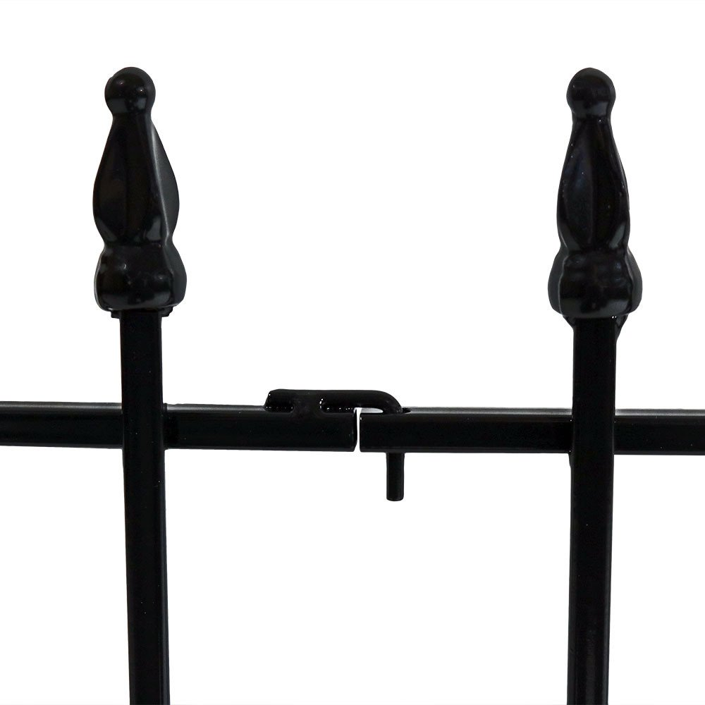 Sunnydaze 5 Piece Roman Border Fence Set, 18 Inches x 22 Inches Wide Each Piece, 9 Overall Feet by Sunnydaze Decor (Image #2)