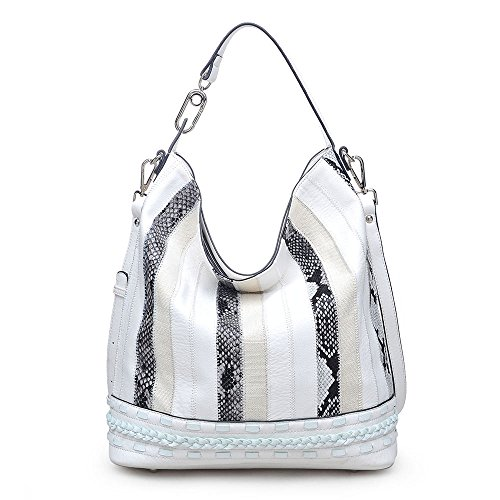 Charlotte Bag Urban White Hobo Expressions gZYcqnR6A
