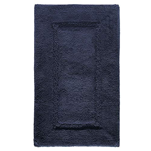 Amazon Com Idesign Spa Plush Cotton Bath Mat Shower