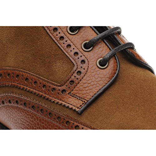 Herring  Herring Docklands, Herren Stiefel braun Tan Grain and Suede
