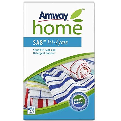 Amway Home SA8tri-zyme manchas y detergente de remojo Booster–Juego de cartas (1kg)