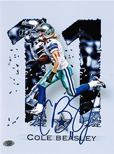 7f231a2bc42 Cole Beasley Autographed Dallas Cowboys 8x10 Photo at Amazon's ...