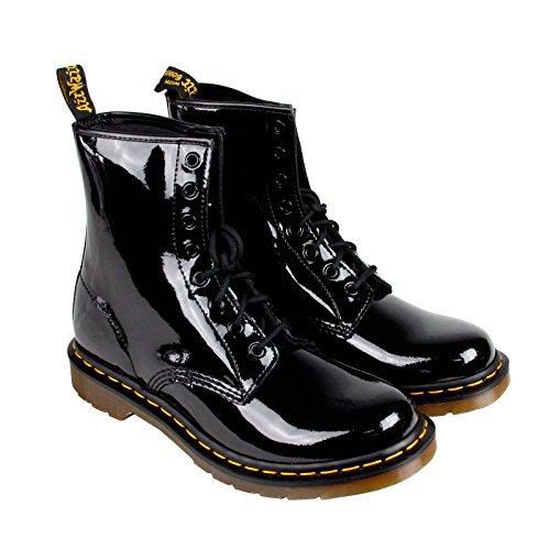 Dr. Marten's Women's 1460 8-Eye Patent Leather Boots, Black Patent Lamper, 7 F(M) UK / 9 B(M) US Women / 8 D(M) US Men (Eye Boot Leather Boots)
