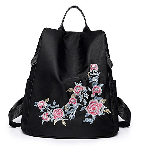 l'eau broderie sac nylon fashion toile C en à imperméable à bandoulière Double Oxford de tissu Aoligei sac sac 0aUx8AI