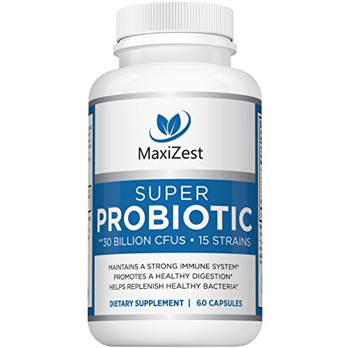 Best Daily Probiotics for Women and Weight Loss and Men – With Acidophilus & Prebiotics FOS – Digestive Health Advantage Capsules – No Refrigeration Needed – Promotes Weight Loss, Constipation Relief For Sale