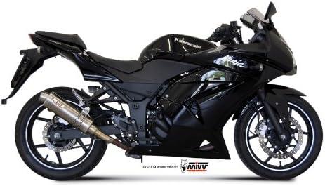 Mivv Sport Gp Slip On Esd Carbon Kawasaki Ninja 250r Bj 2008 Auto