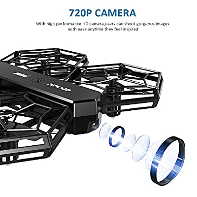 GoolRC T908W WIFI FPV DIY Detachable Drone with 0.3MP Camera Live Video for kids with Altitude Hold Mode, One Key Take off Landing Quadcopter Easy Fly Steady for Beginners by GoolRC