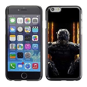EJOY---Cubierta de la caja de protección la piel dura para el / iPhone 6 / --SWAT Doble arma