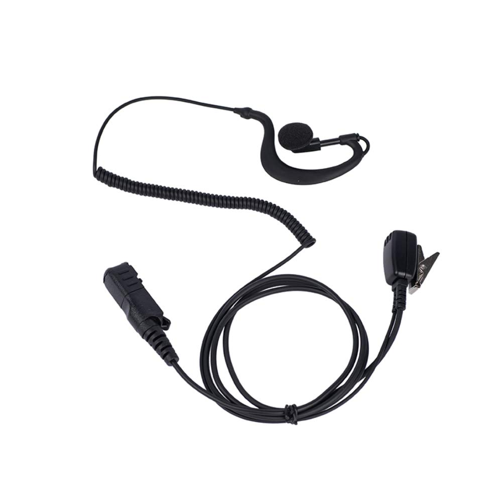 Trido G Shape Earpiece Headset Mic PTT for Motorola Two Way Radio XPR3500 XPR3000 XPR3300 XPR3300e XPR3500e walkie Talkie