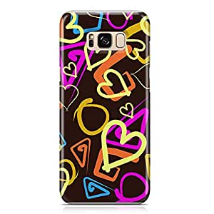 Samsung S8 Plus Case Love Pattern Gift For Girls Durable Metal Inforced Light Weight Samsung S8 Plus Cover Wrap Around 130